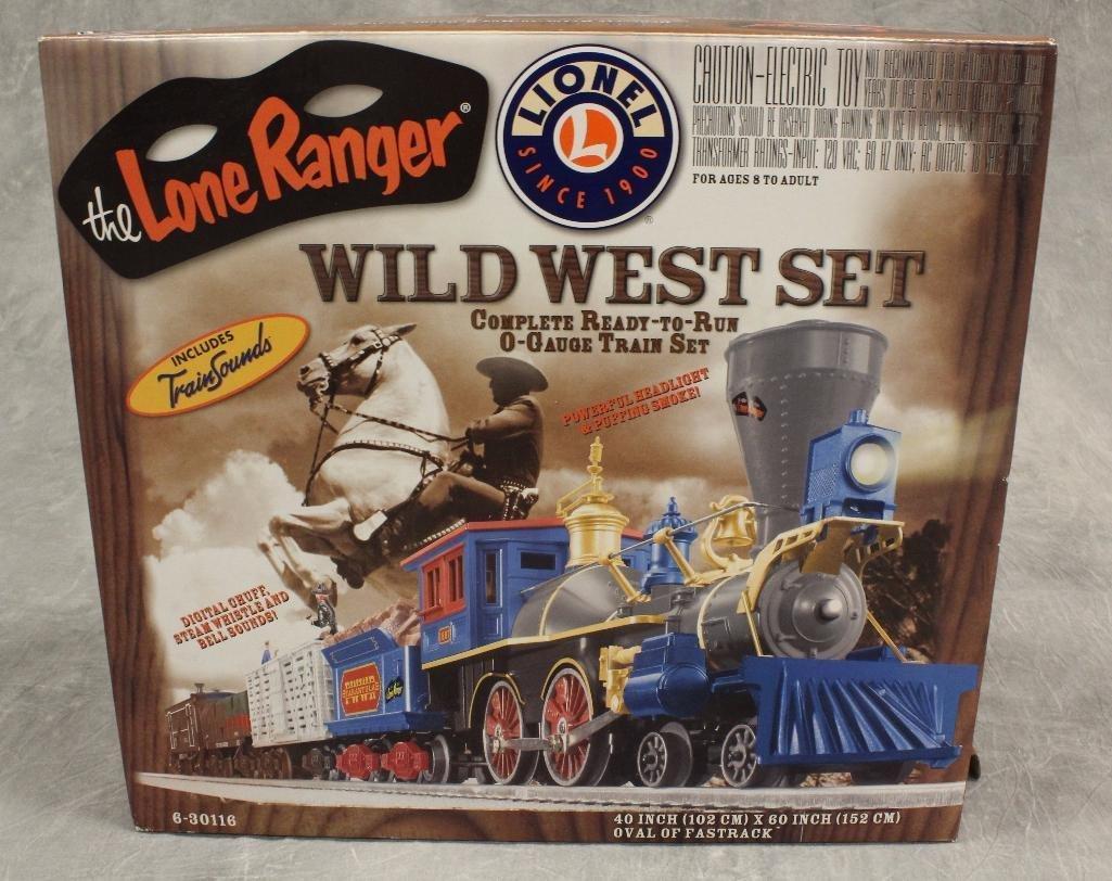 Lionel Lone Ranger Train Set
