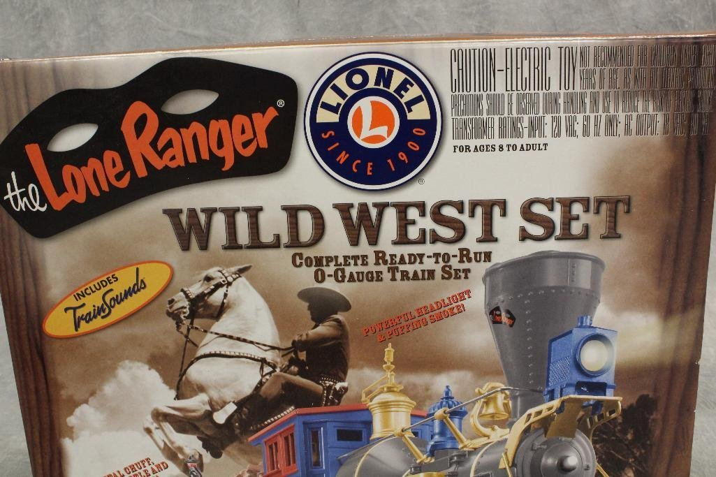 Lionel Lone Ranger Train Set - 3