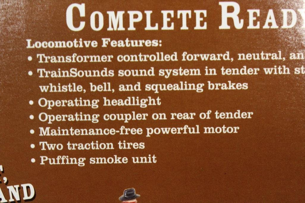 Lionel Lone Ranger Train Set - 6