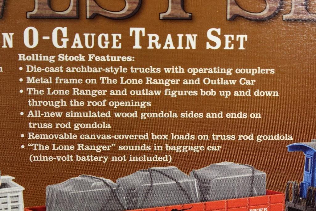 Lionel Lone Ranger Train Set - 7
