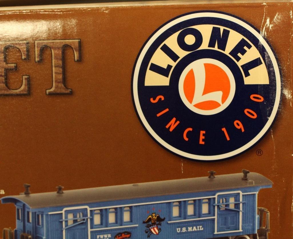 Lionel Lone Ranger Train Set - 8