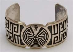 Native American Hopi Cuff Bracelet