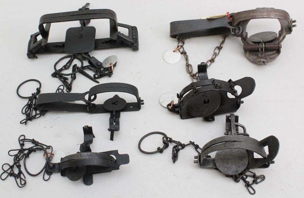 Lot of 6 Traps
