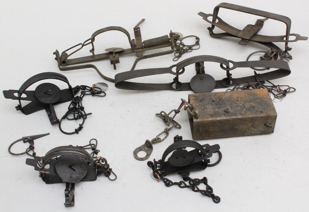 Lot of 7 Traps