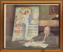 Political Print - Roosevelt 1942.