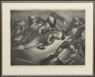 "Benton Spruance (1904-1967, Pennsylvania) ""Spinner"