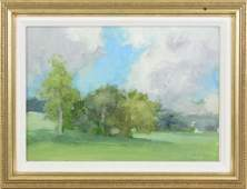 Stuart Shils b 1954 Pennsylvania Summer Trees and