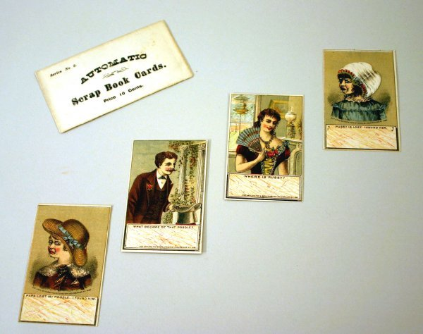 2012: 19th Century Mechanical Cards