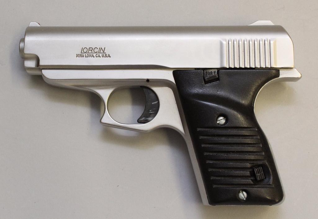 Lorcin L380 semi-automatic pistol. - 2