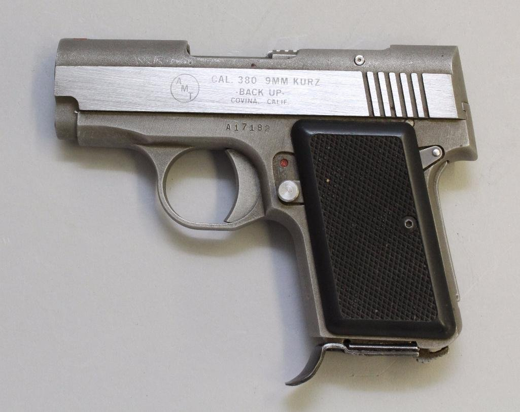 AMT Back Up semi-automatic pistol. - 2