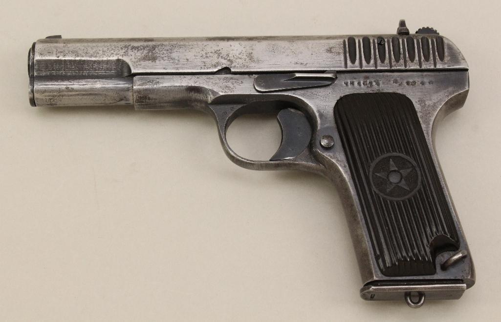 Tokarev Model TT semi-automatic pistol. - 3