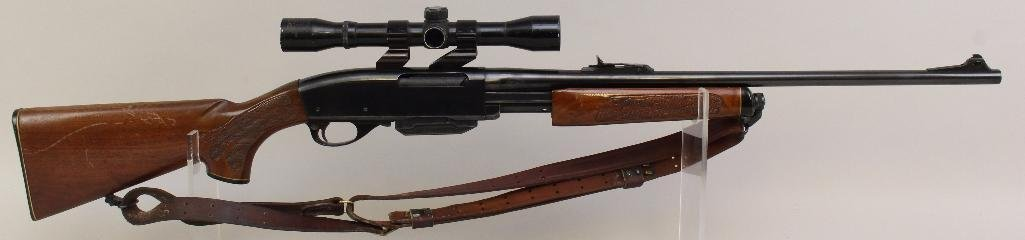 Remington Gamemaster Model 760 pump action rifle.