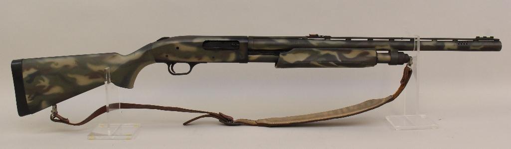 Mossberg Model 835 Ulti-Mag pump action shotgun.