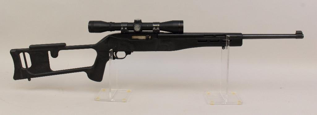 Ruger 10/22 semi-automatic rifle.