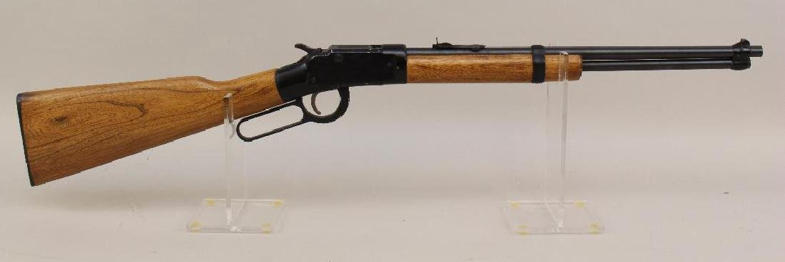Ithaca M49 lever action rifle.