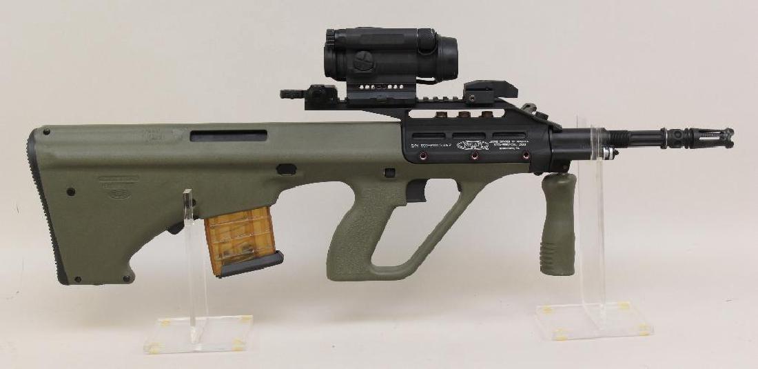 MSAR STG-556 semi-automatic rifle.