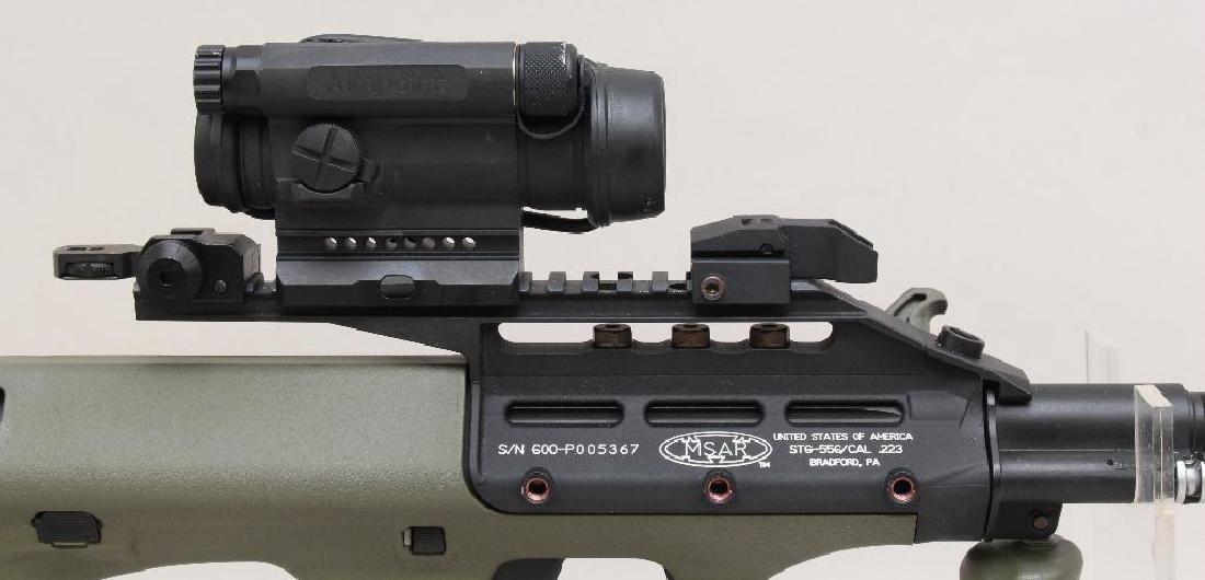 MSAR STG-556 semi-automatic rifle. - 2