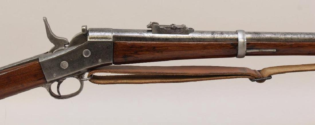 Model 1871 rolling block US Army rifle. - 2