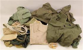 Grouping of US Military Clothing