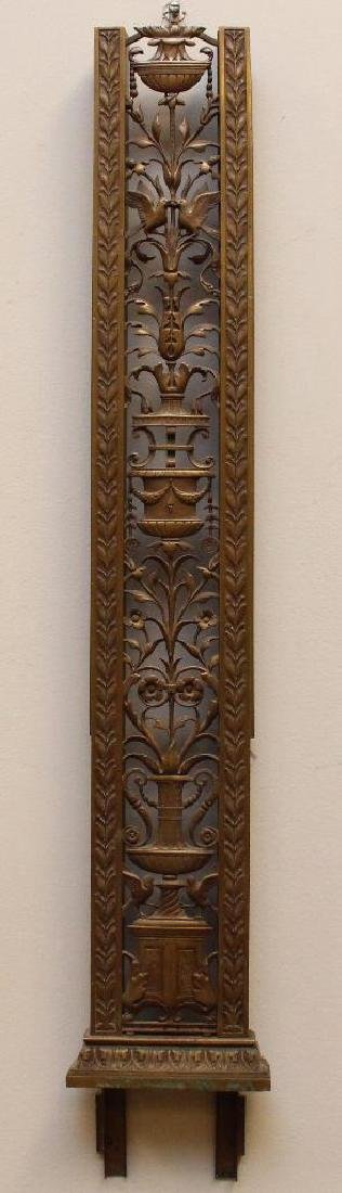 Ornate Bronze Letter Shoot