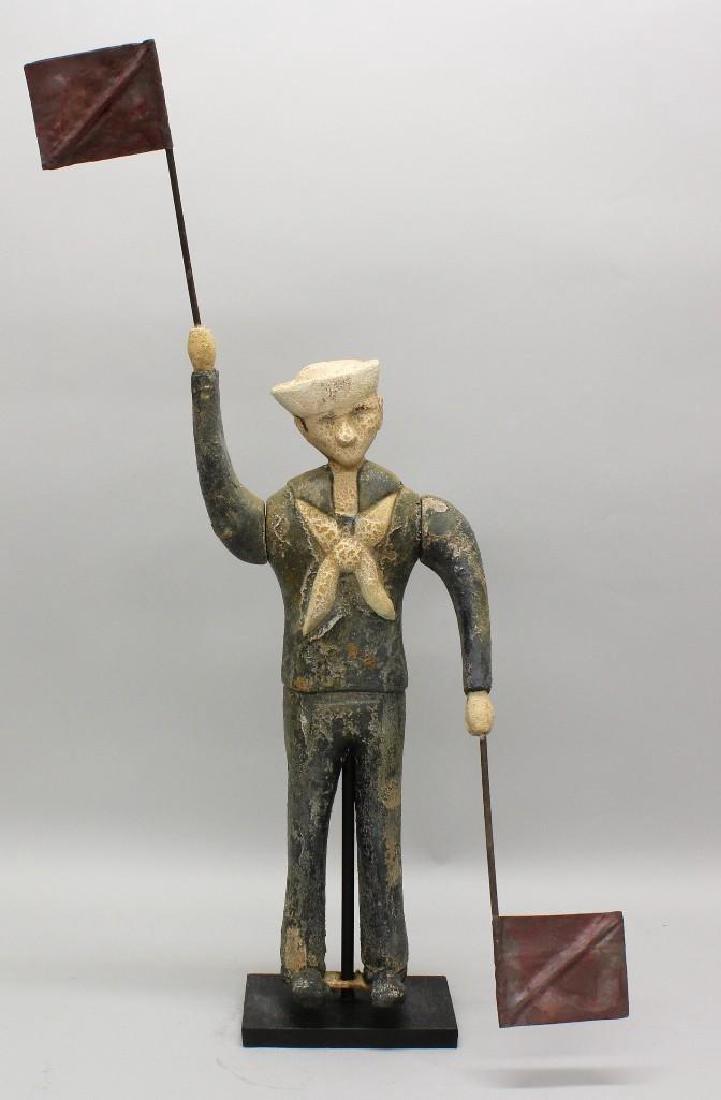 Folk Art, Sailor Whirligig