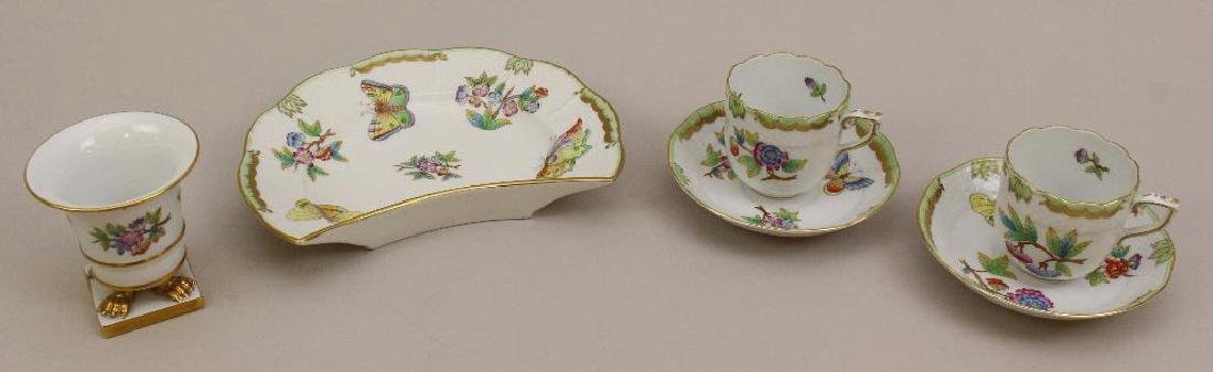 (4) Piece Grouping of Herend Porcelain