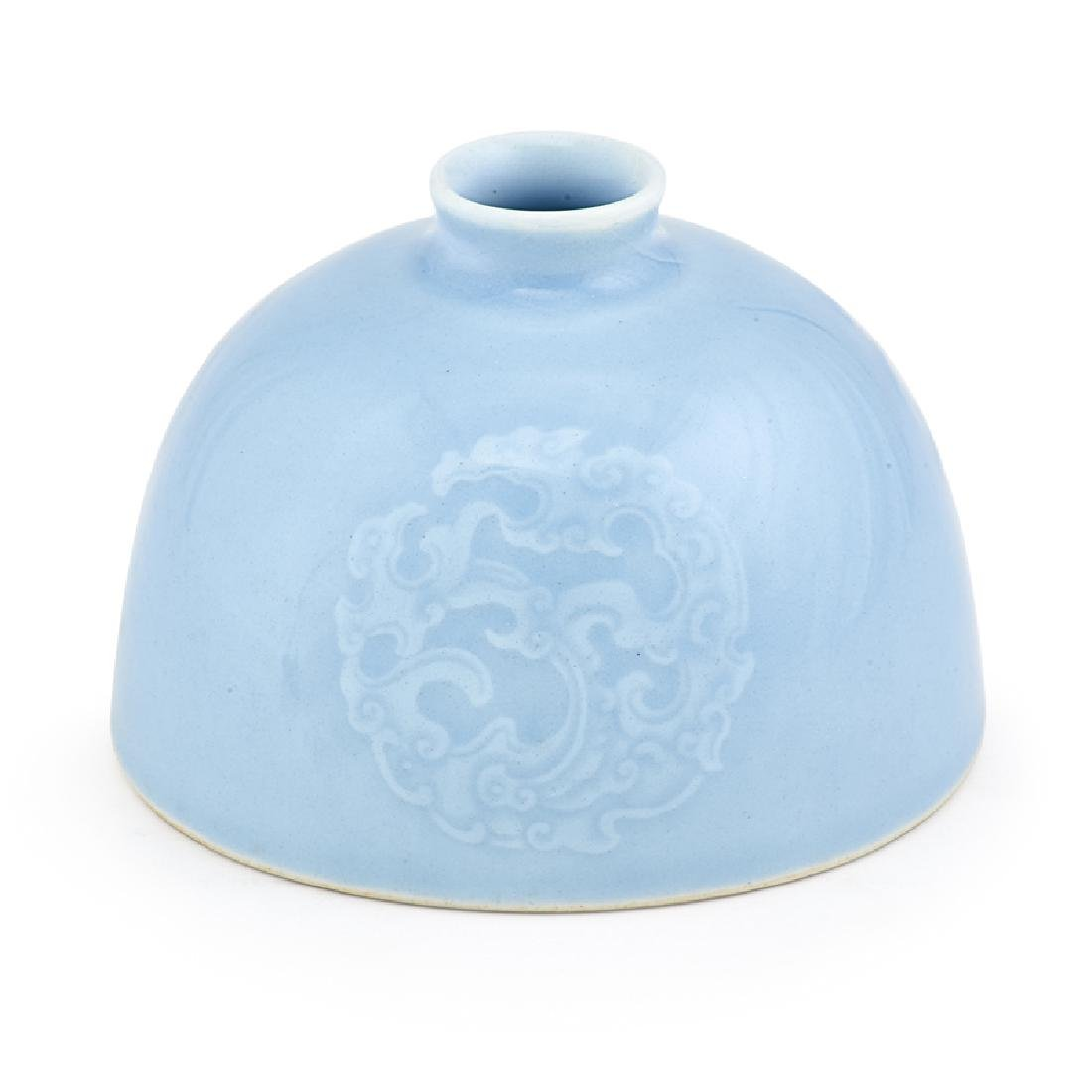 CHINESE PORCELAIN BEEHIVE WATERPOT