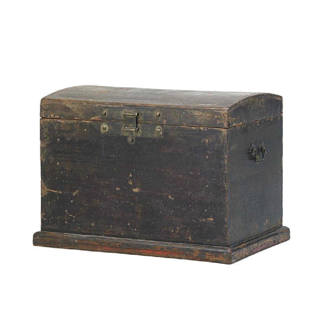 CHINESE PAINTED TRUNK
