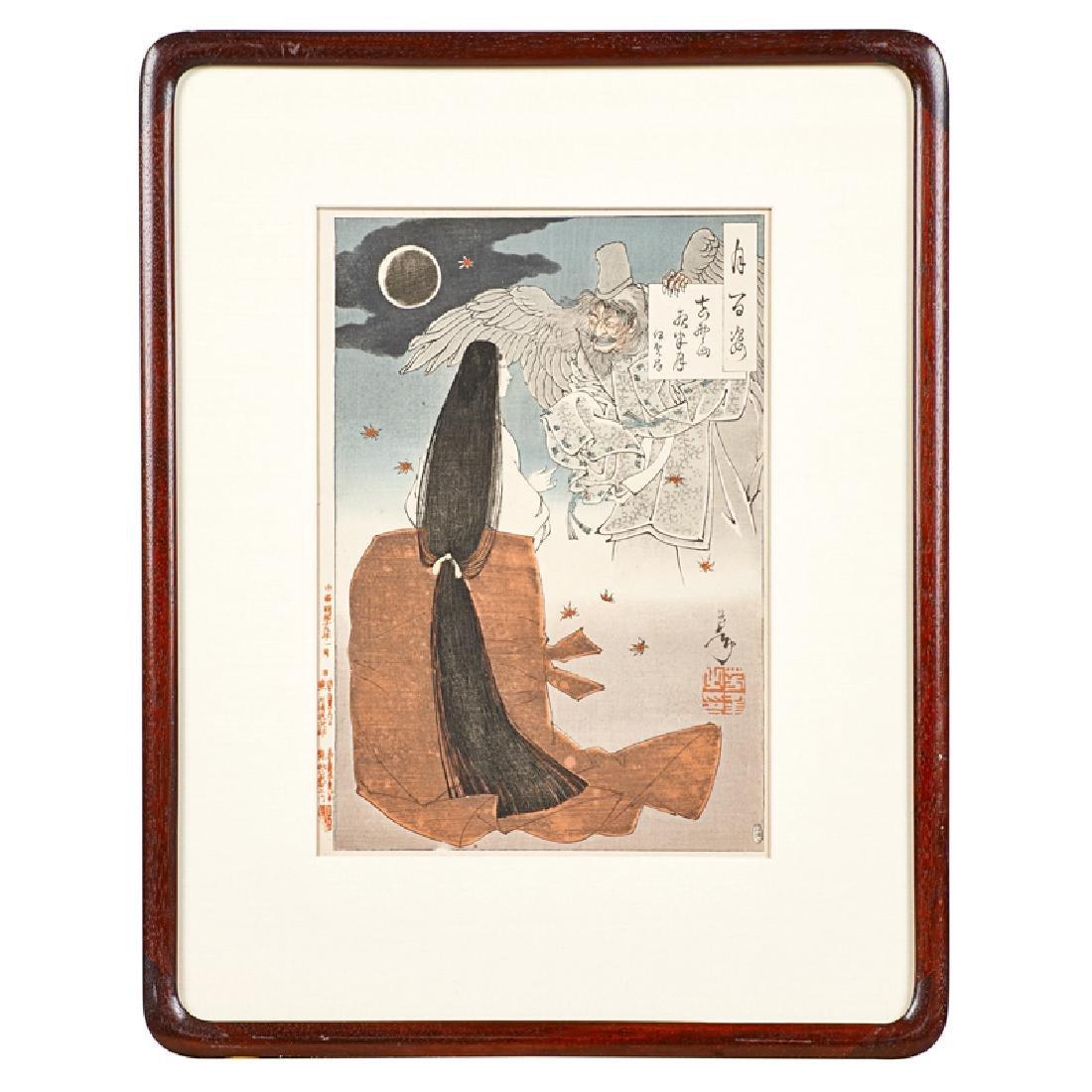 TSUKIOKA YOSHITOSHI (Japanese, 1839-1892) - 2