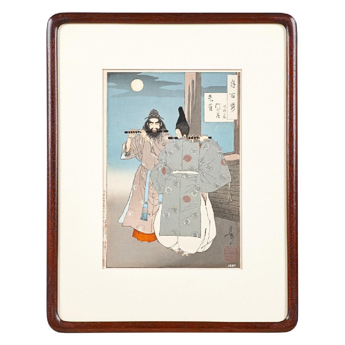 TSUKIOKA YOSHITOSHI (Japanese, 1839-1892) - 3
