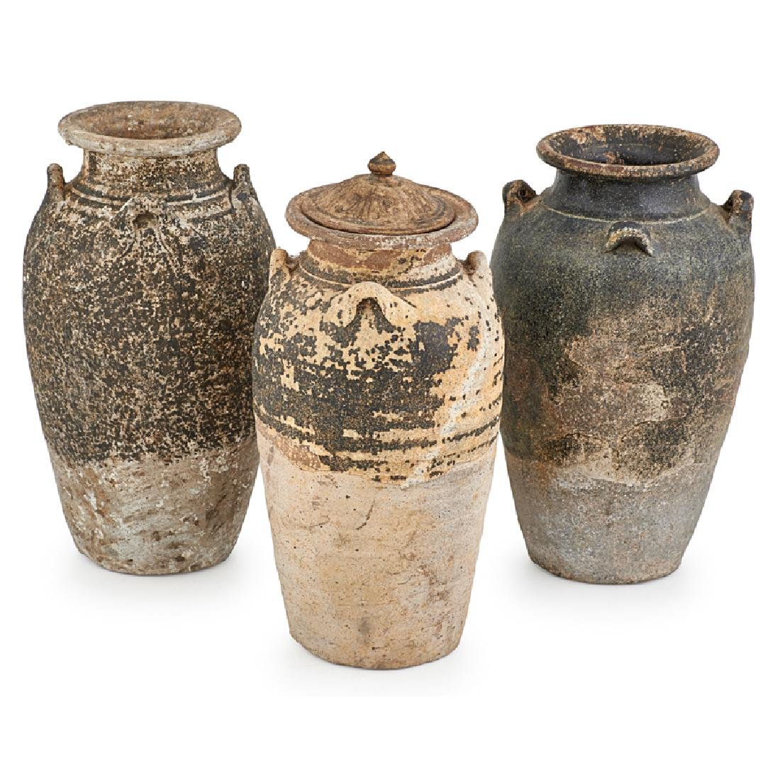 GROUP OF THAI POTTERY