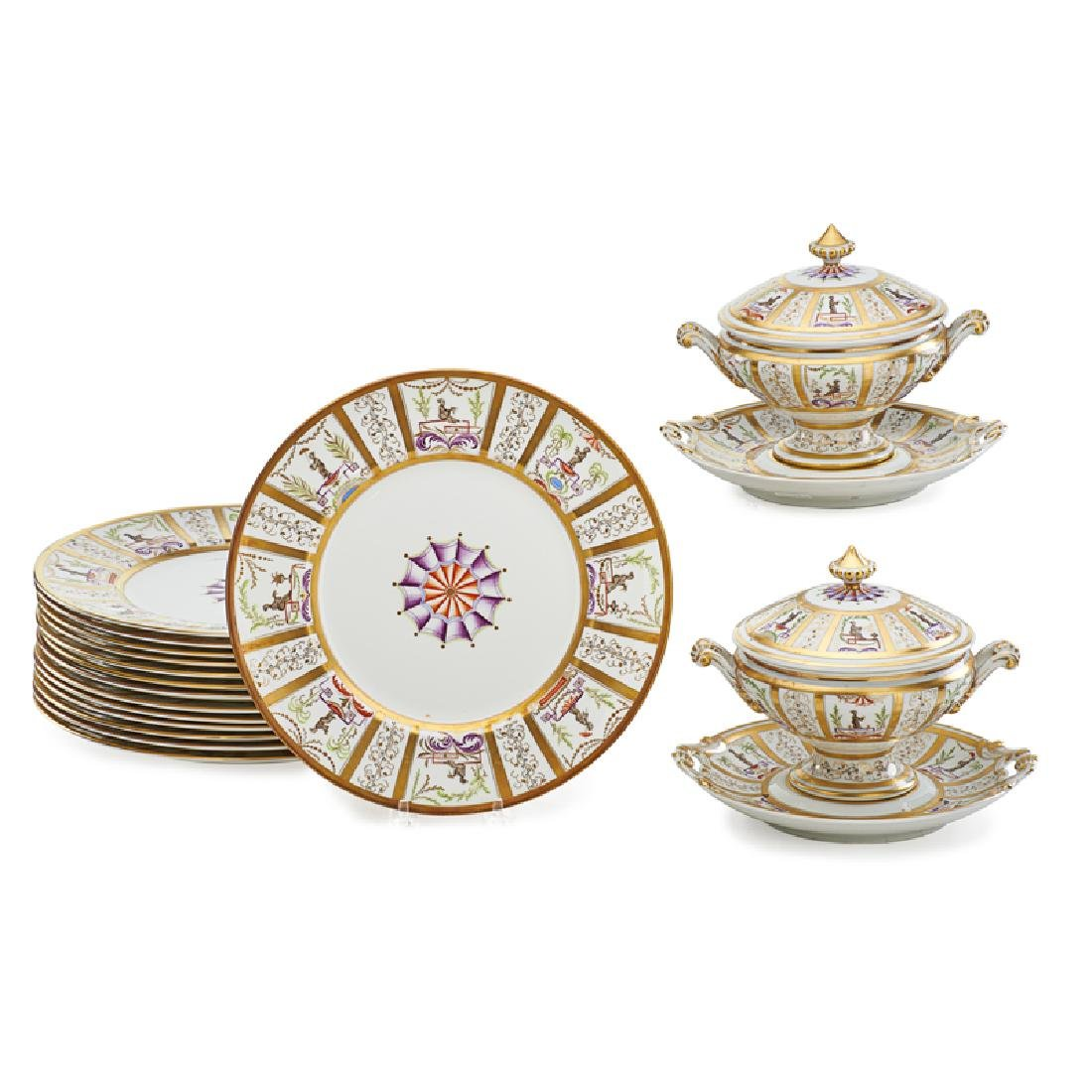 LE TALLEC LIMOGES FOR TIFFANY & CO. PORCELAIN...