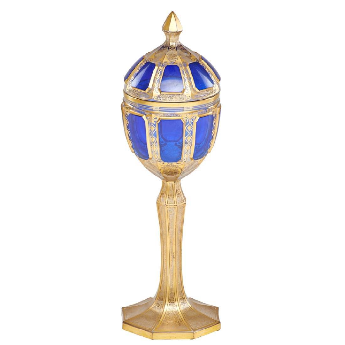 BOHEMIAN GLASS POKAL