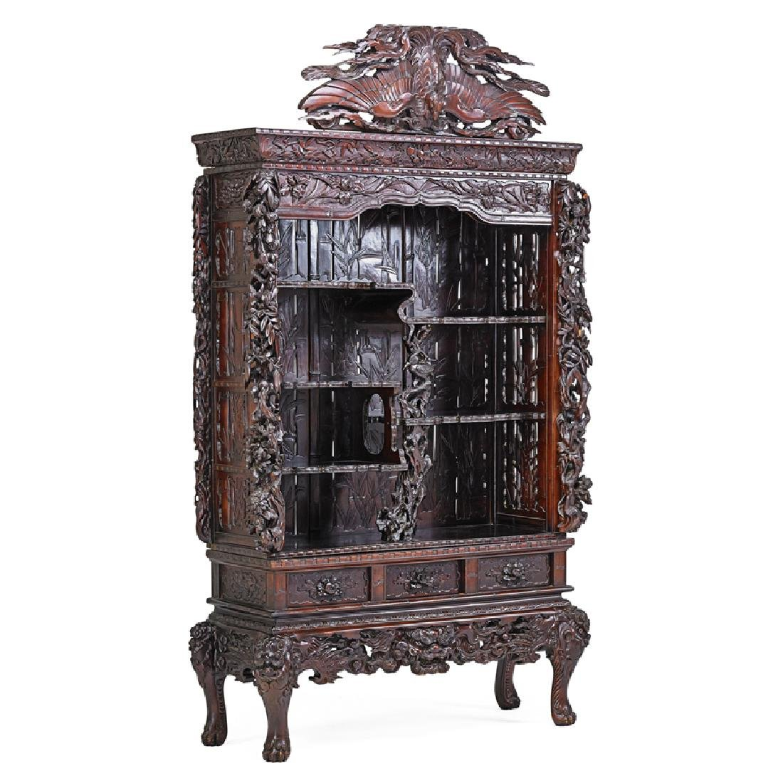 JAPONISM CABINET ON STAND