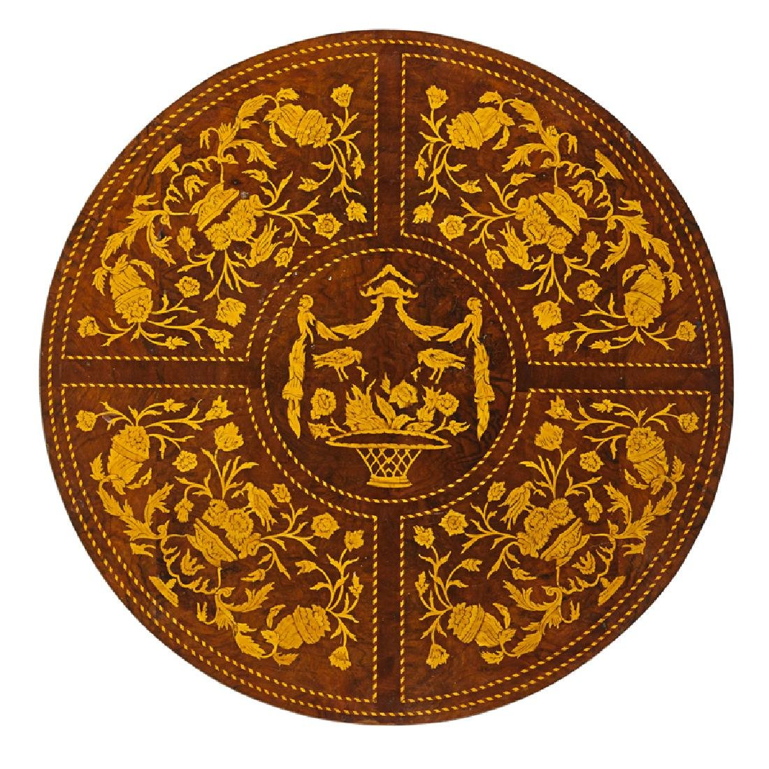 DUTCH MARQUETRY CENTER TABLE - 2