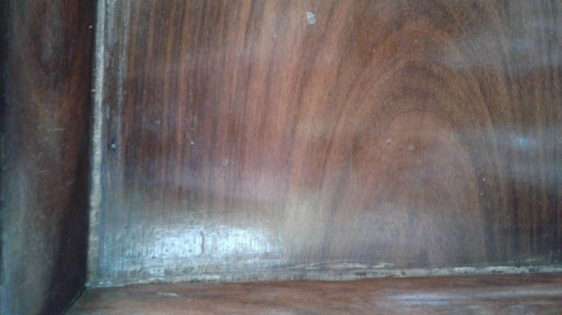 ANGLO-INDIAN HARDWOOD FITTED CELLARETTE - 4
