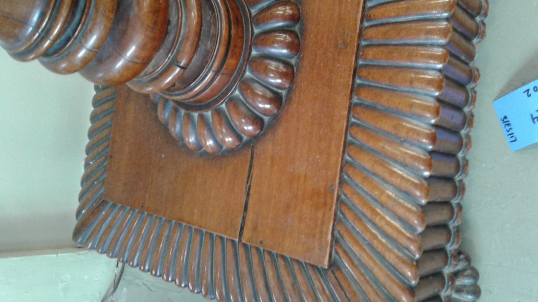 ANGLO-INDIAN HARDWOOD FITTED CELLARETTE - 7