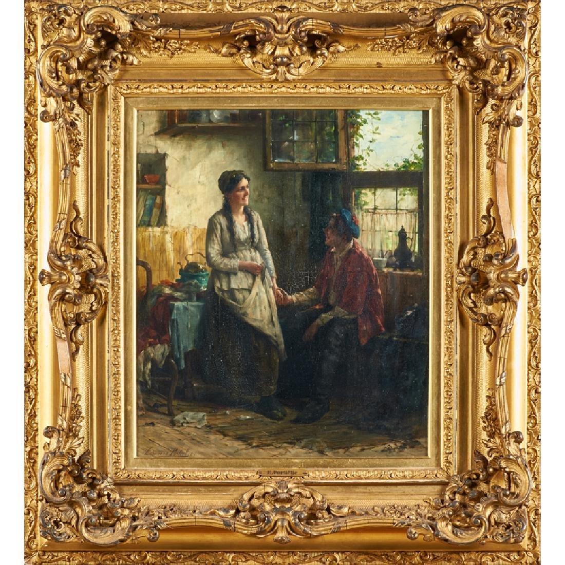 EDWARD PORTIELJE (Belgian, 1861-1949)