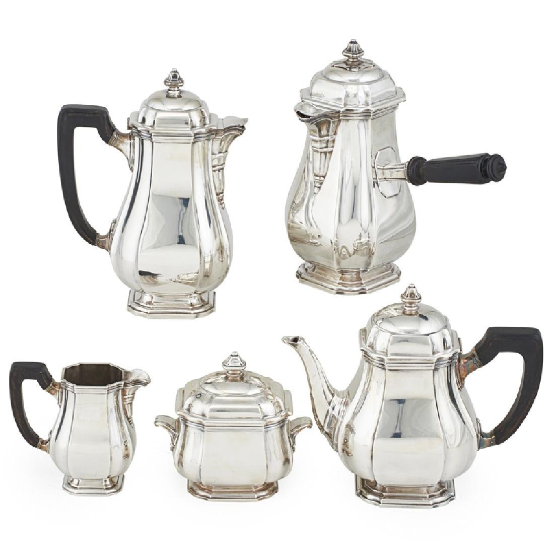 HENRI LAPPARRA STERLING SILVER TEA SET