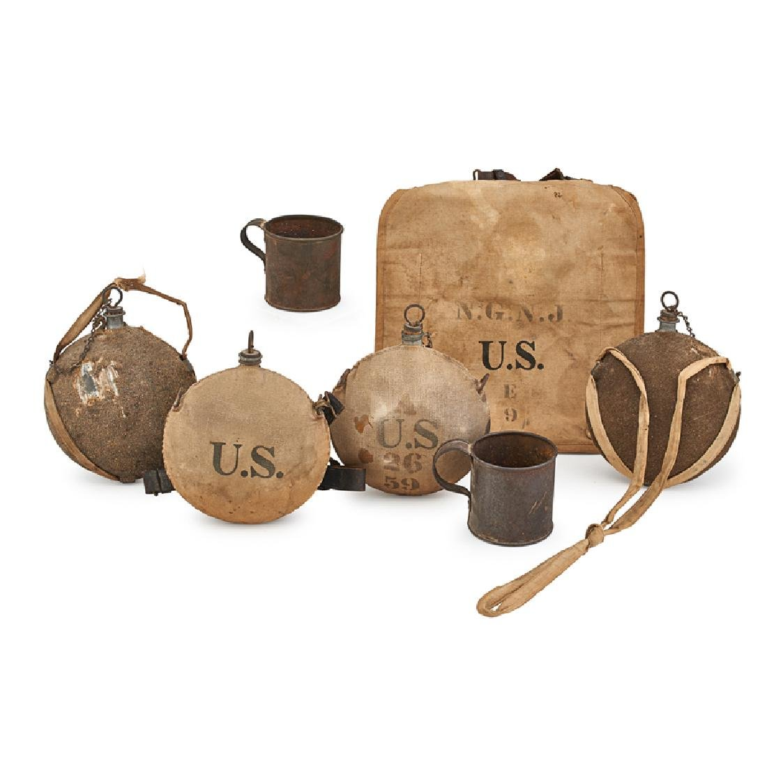19TH C. UNITED STATES ARMY ACCOUTREMENTS