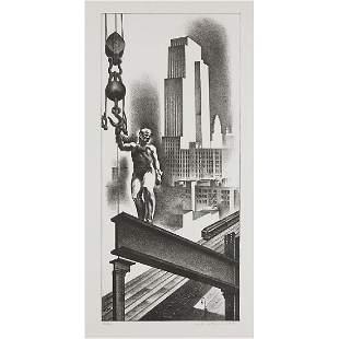 Louis Lozowick (American/Russian, 1892-1973)