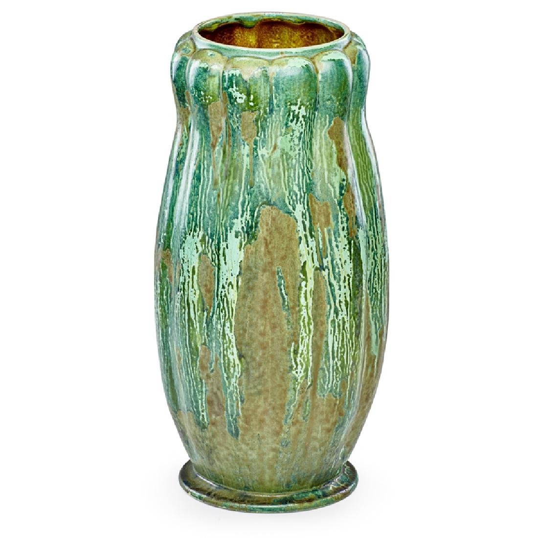 TIFFANY STUDIOS Massive gourd-shaped vase
