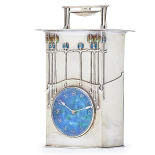 "ARCHIBALD KNOX Rare Cymric ""The Magnus"" clock"