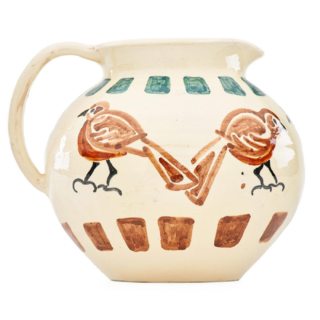 SHEARWATER Pitcher with birds