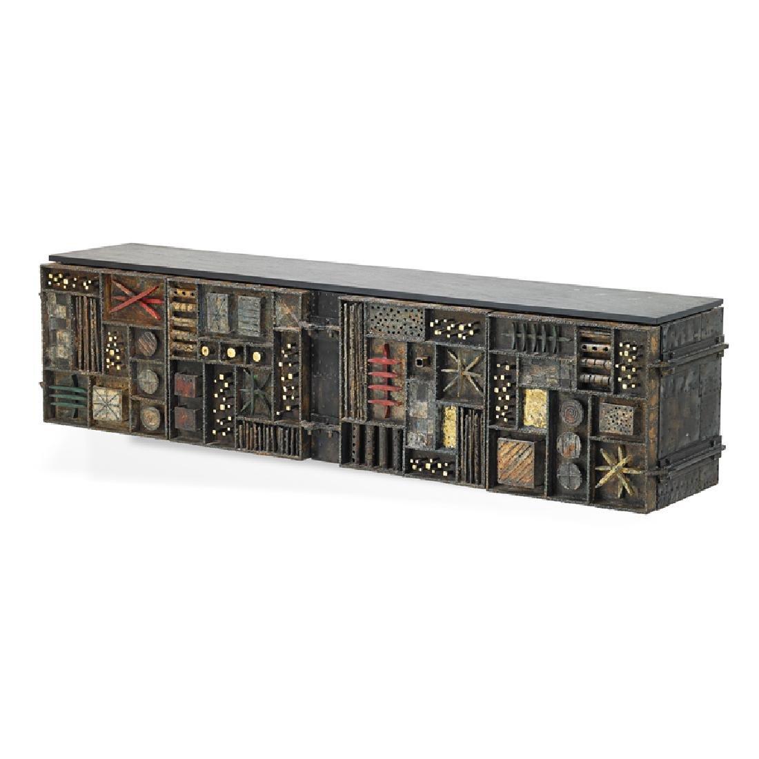 PAUL EVANS Fine Sculpture Front cabinet