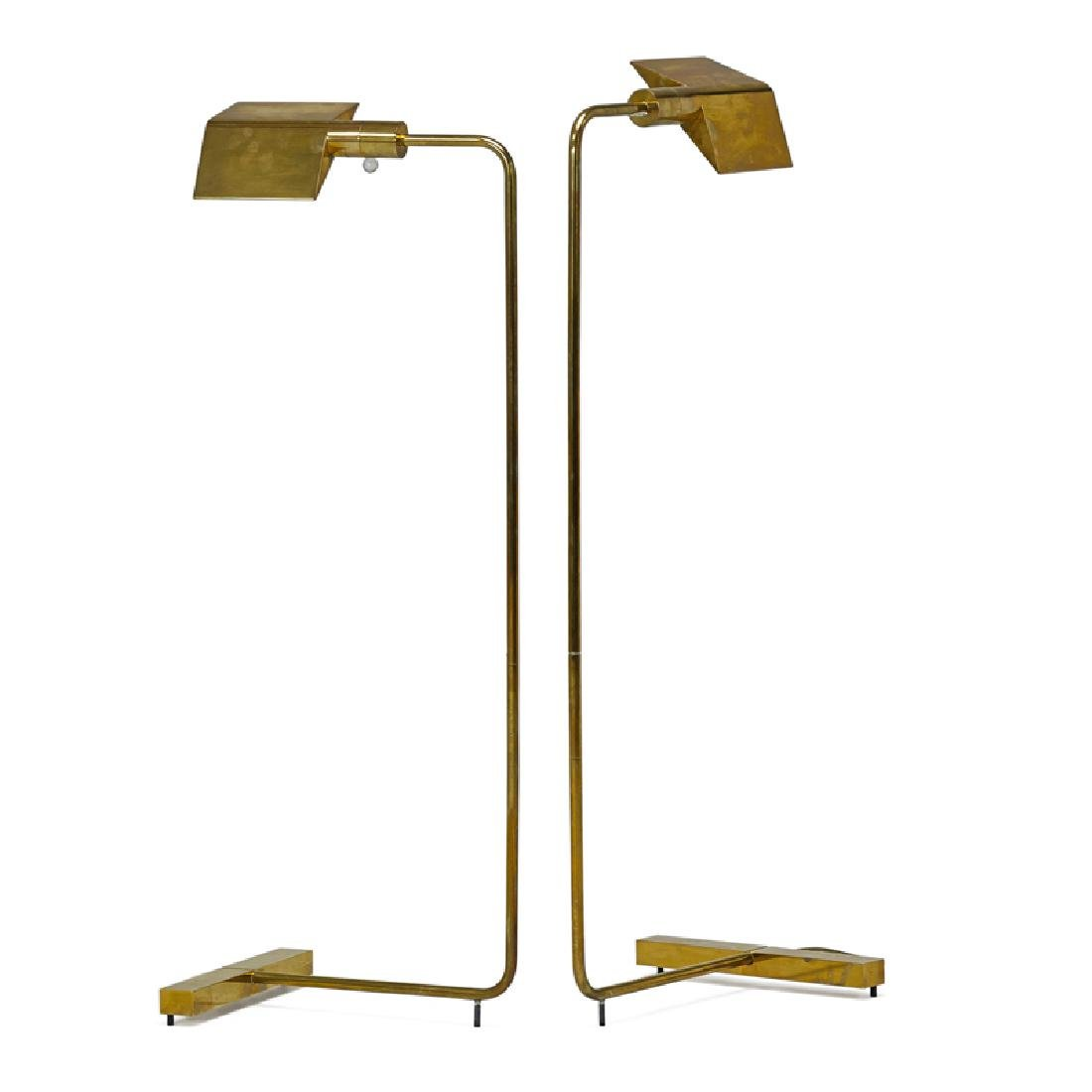 CEDRIC HARTMAN Pair of floor lamps