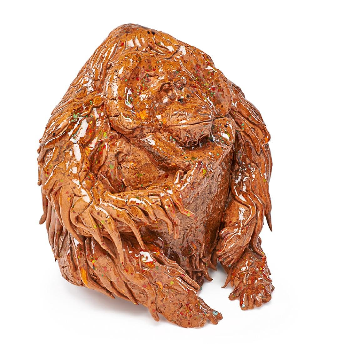 DAVID GILHOOLY Untitled sculpture (Orangutan)
