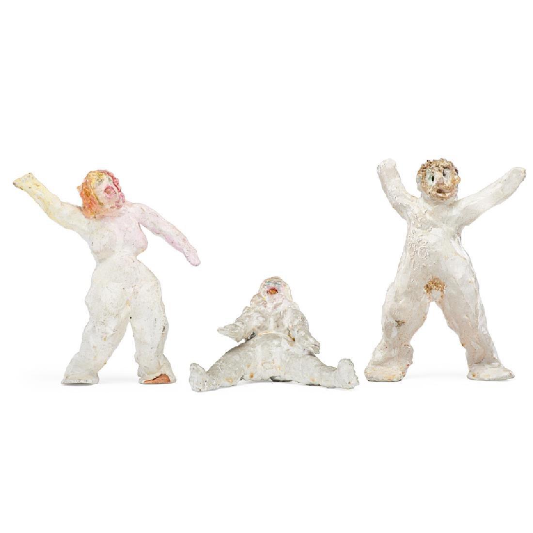 DAVID LUBIN Three sculptures