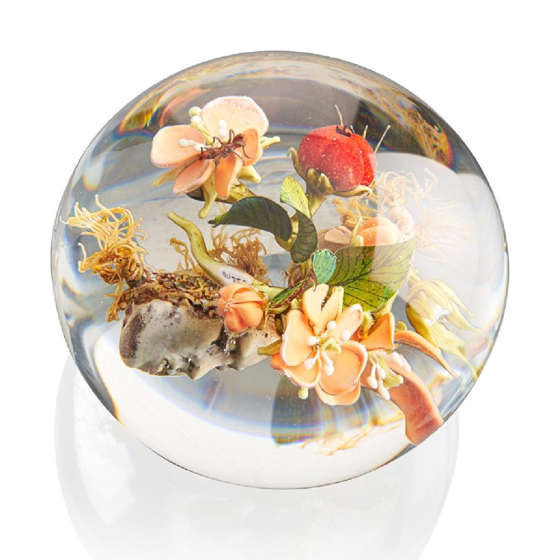 PAUL STANKARD Paperweight with mask