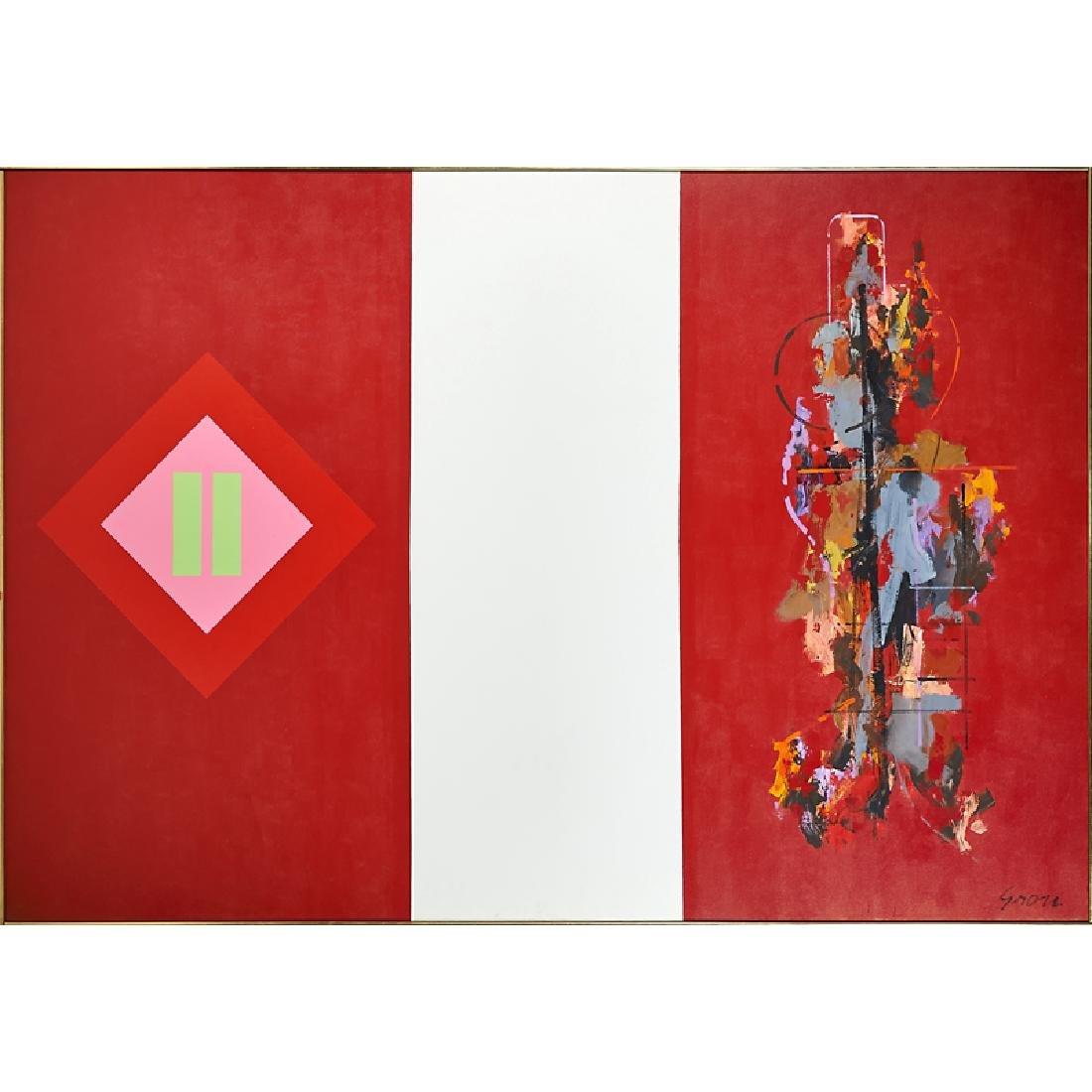SIDNEY GROSS (American, 1921-1969)